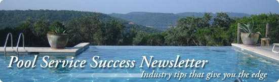 pool service success newsletter